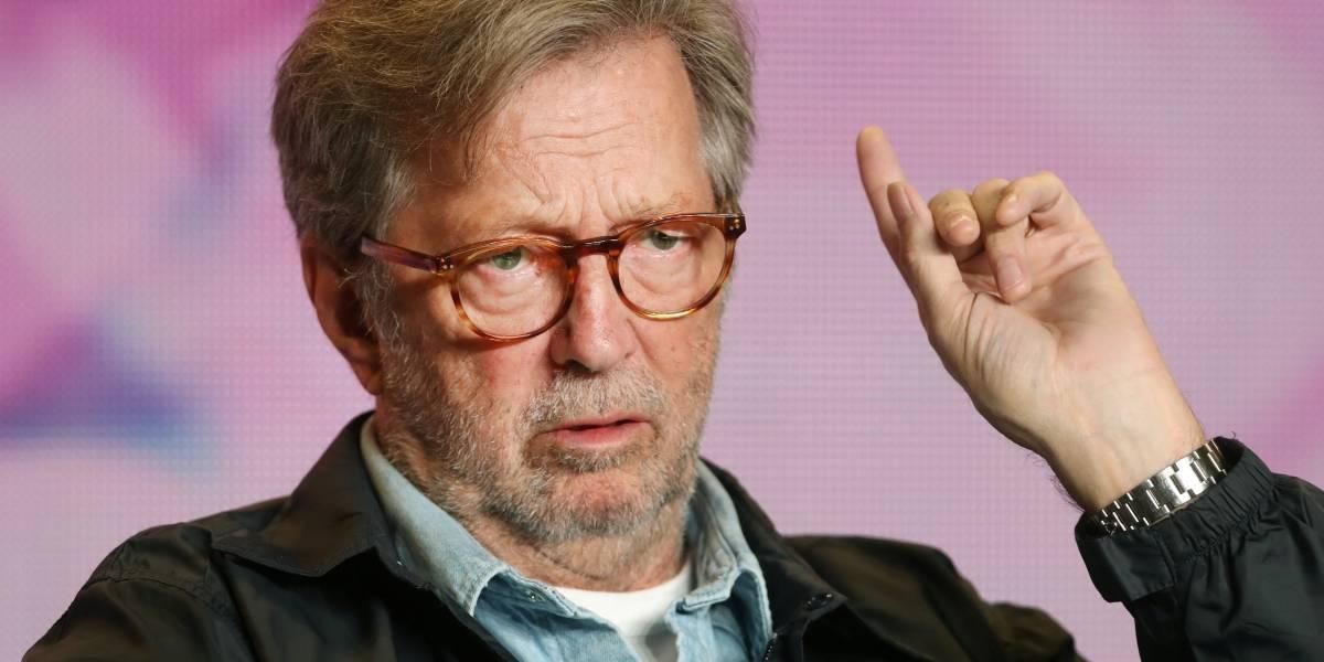 Eric Clapton diz não ser fácil assistir documentário sobre própria vida