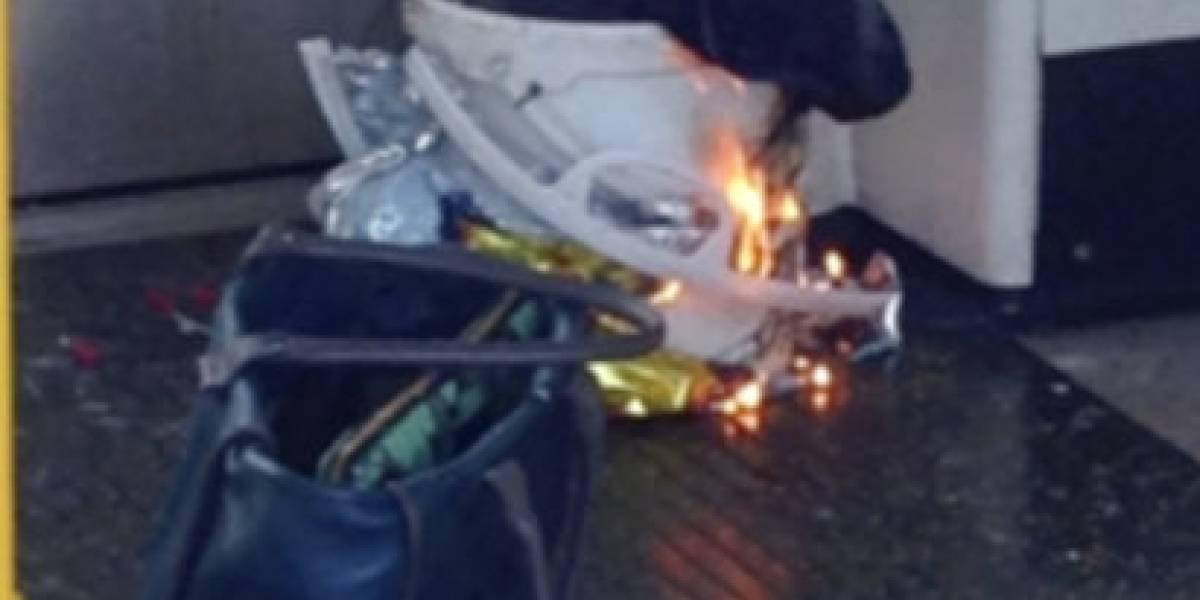 Estalla bomba casera en metro de Londres