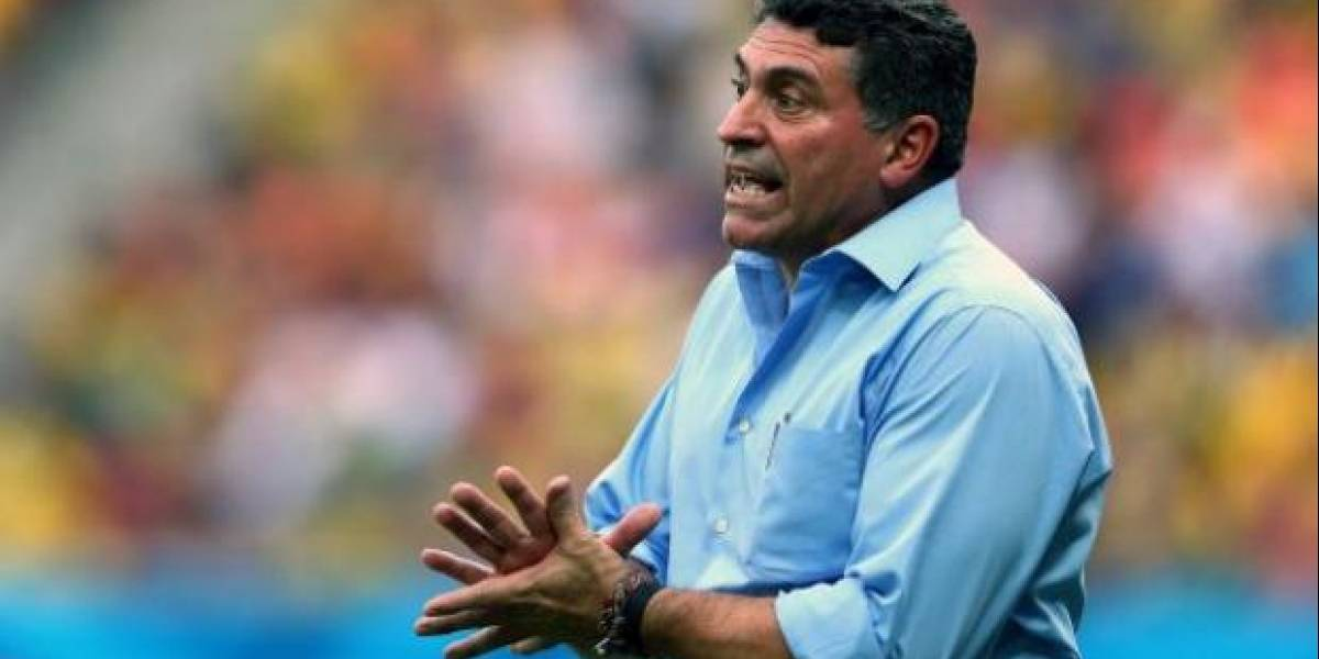 Luis Fernando Suárez, sorprendido con retiro de Felipe Caicedo