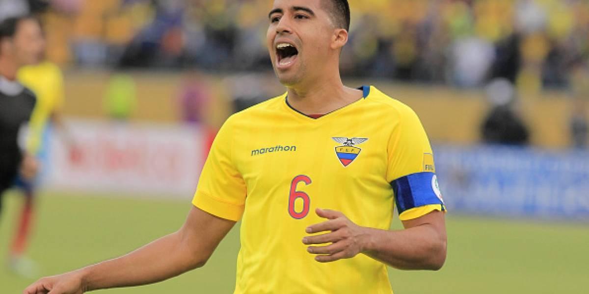 Christian Noboa no será convocado a los juegos contra Chile y Argentina