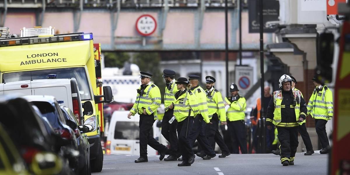 El sospechoso del atentado de Londres fue detenido
