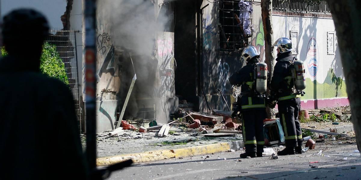 Barrio Bellavista: impresionante explosión por acumulación de gas deja una mujer grave y dos heridos
