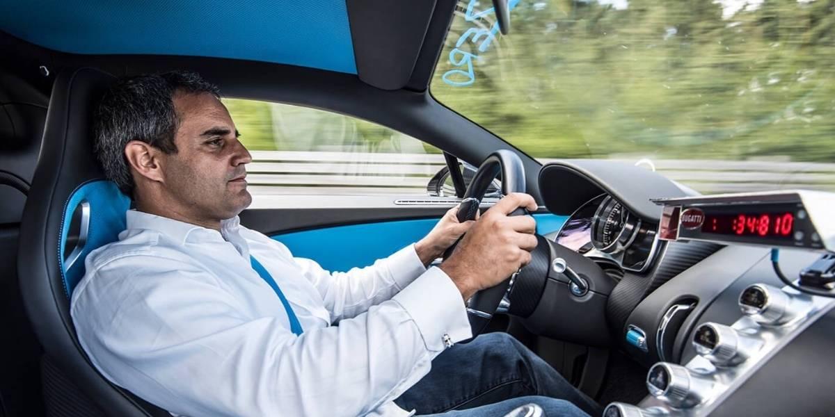 El Bugatti Chiron es (certificadamente) el auto más rápido del mundo
