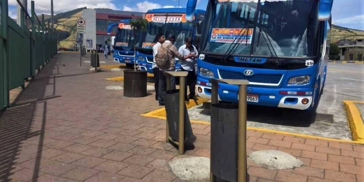 Se habilita nueva ruta de transporte entre terminales Quitumbe y Carcelén
