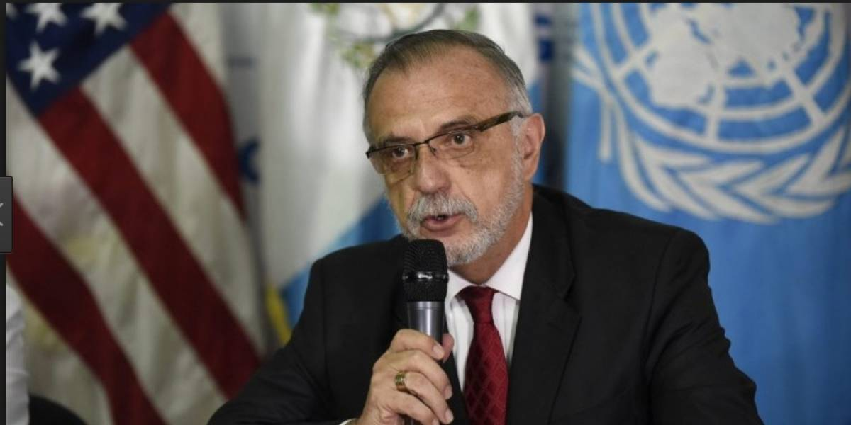 """El jefe de la CICIG: """"Morales intentará neutralizar la lucha contra la corrupción"""""""