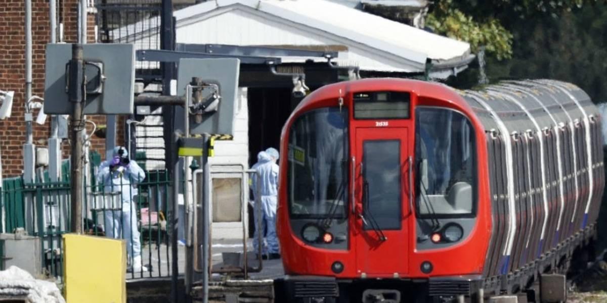Explosión en el metro de Londres deja 29 heridos leves