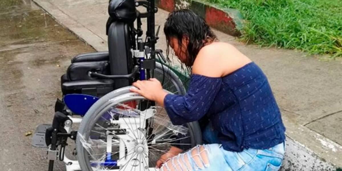 Caleño reparó silla de ruedas de niño víctima de atraco