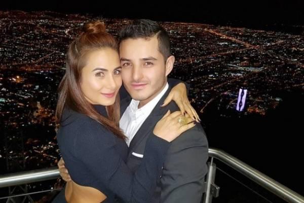 Johanna Fadul y Juanse Quintero