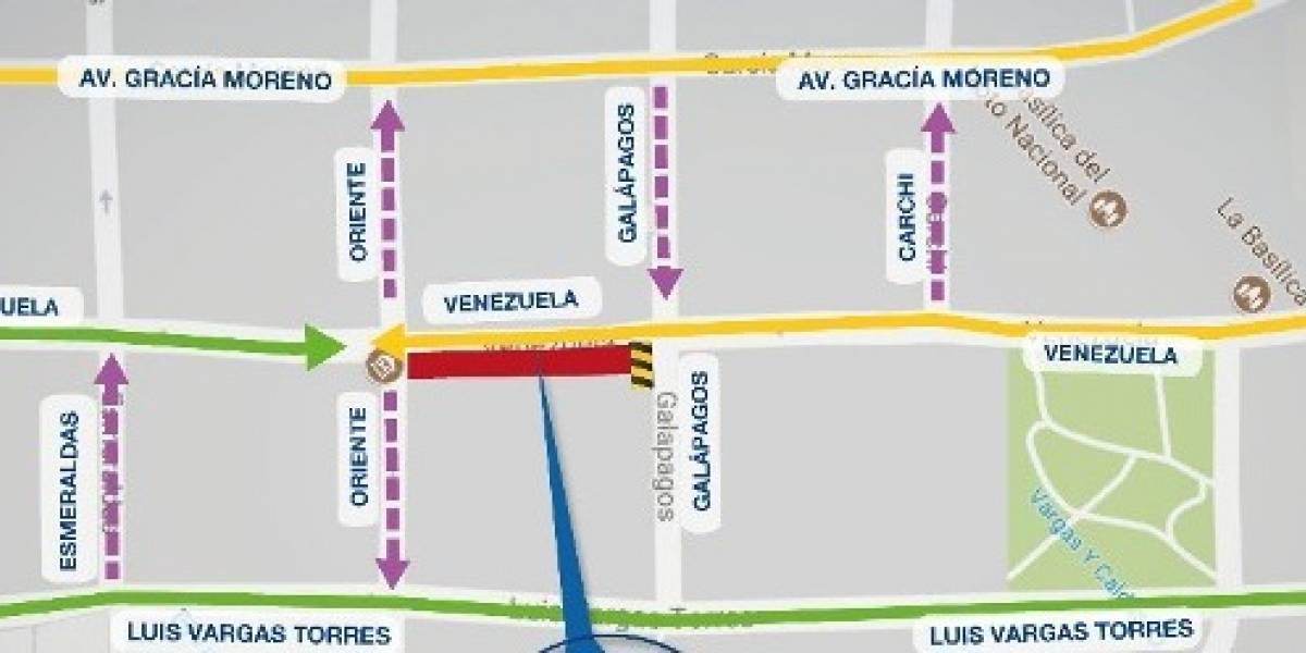 Municipio anuncia cierre en la calle Venezuela