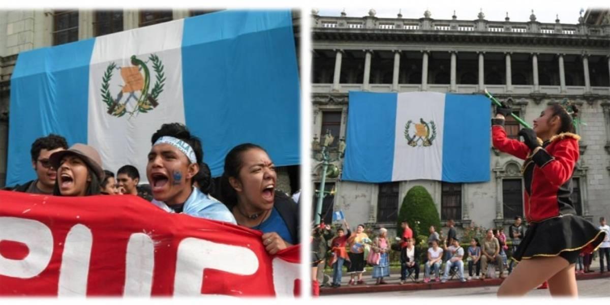Plaza de la Constitución, escenario de manifestaciones y desfiles este 15 de septiembre