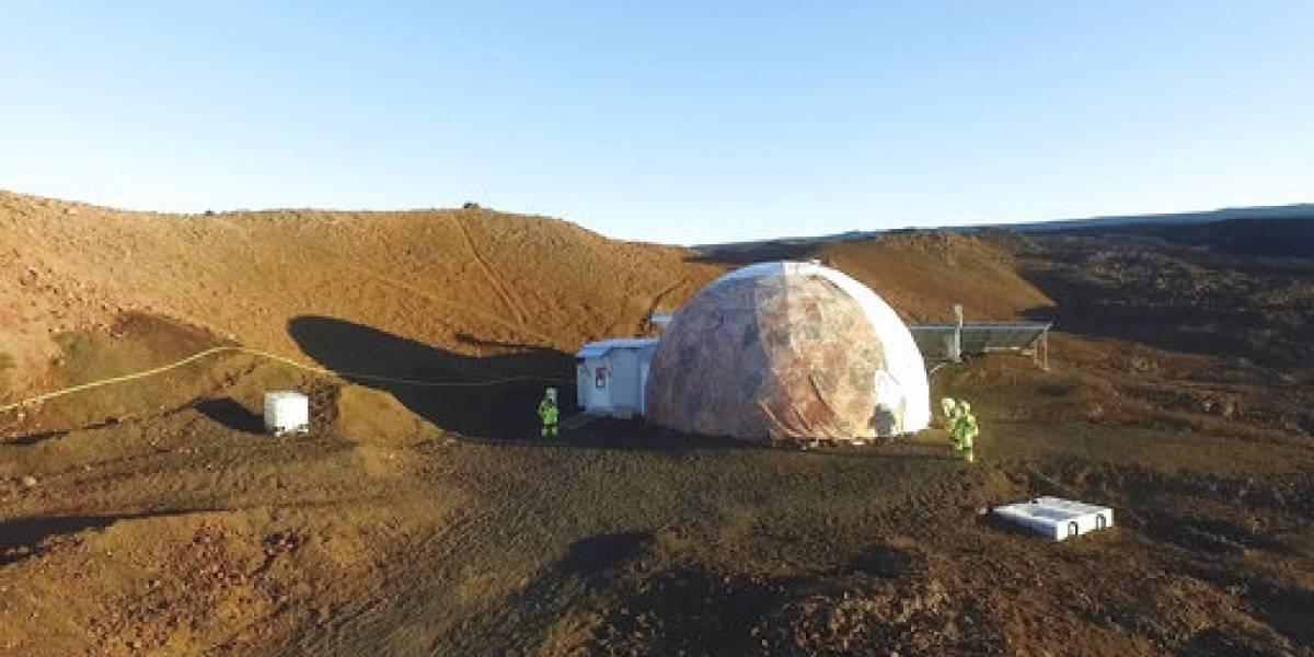 Termina simulacro marciano en Hawaii