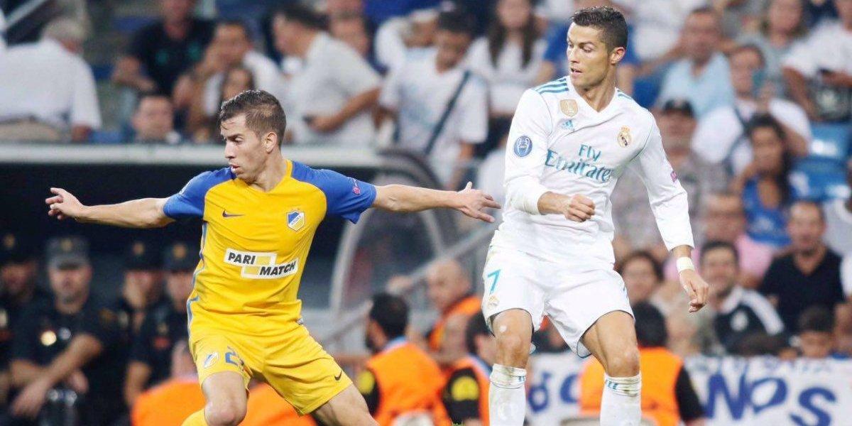 """Agustín Farías desclasifica su día con los cracks del Madrid: """"Me veo marcando a Ronaldo y me impacta"""""""