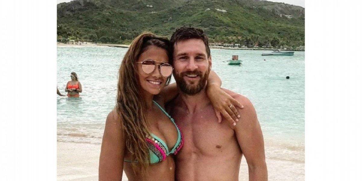 VIDEO. Messi y Antonela aprovechan para juguetear en la intimidad de su casa