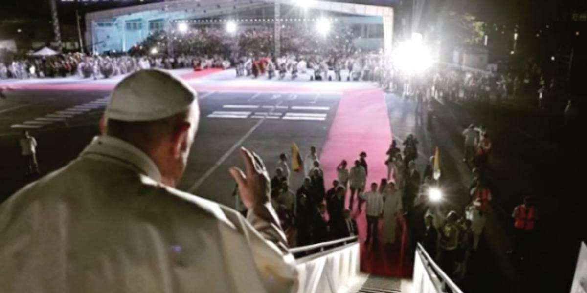El estremecedor video que publicó el papa Francisco de su visita a Colombia