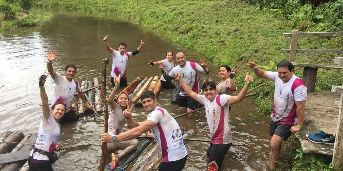 Competir en la carrera de lodo Metro Yanasacha Race te hará más fuerte