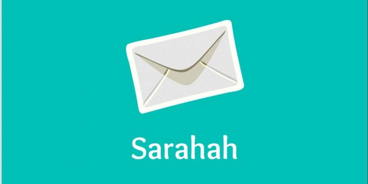 El auge de Sarahah: ¿Otra plataforma para el bullying?