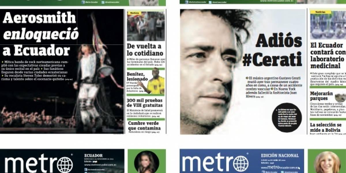 Metro Ecuador: 15 años de calidad periodística