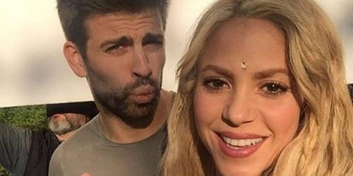 Piqué hace una señal y deja entrever que se acabó el amor con Shakira