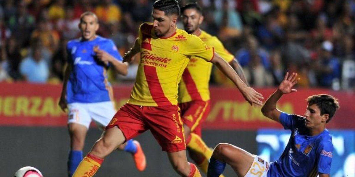 Empate cargado de goles y chilenos en cancha entre Morelia y Tigres