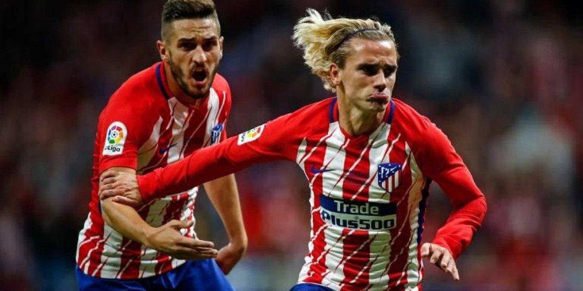 Griezmann desató la fiesta del Atlético en la inauguración del Wanda Metropolitano