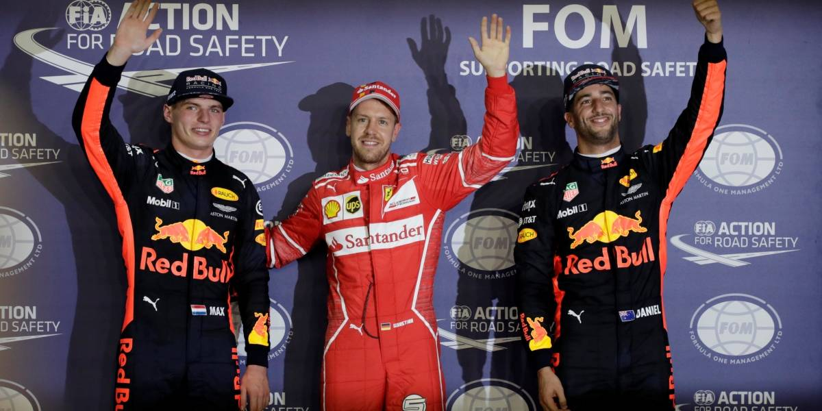 Vettel desbanca Red Bull e fatura pole no GP de Cingapura