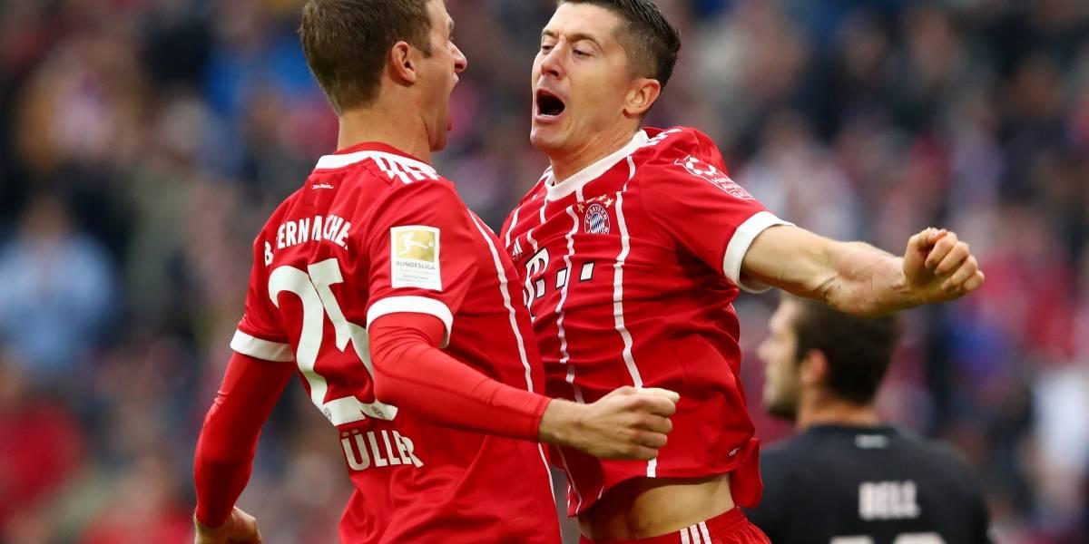 Bayern de Munique reage com goleada sobre o Mainz após derrota no Alemão
