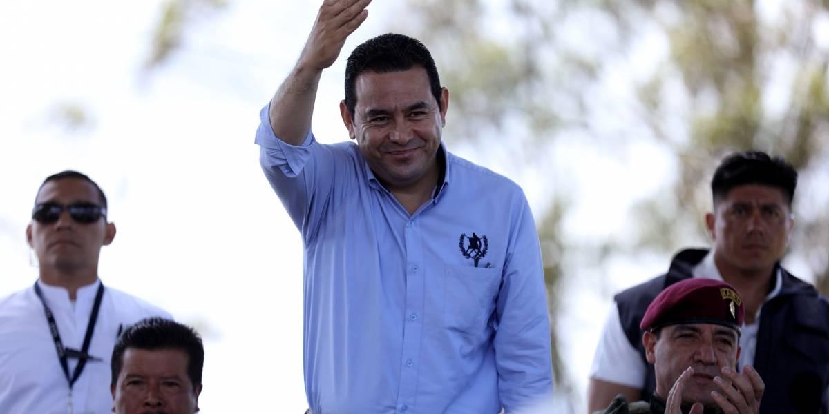 Jimmy Morales viajará a Nueva York en medio de la crisis política