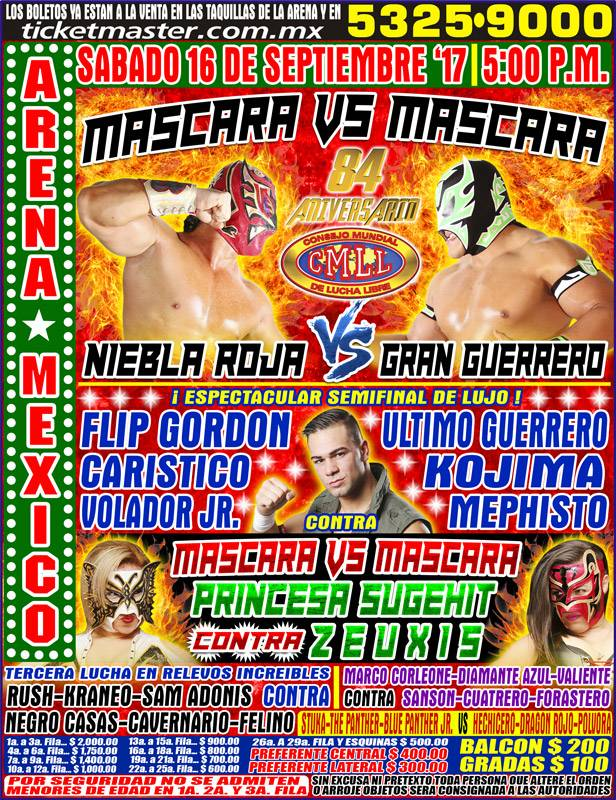Post image of CMLL: 84.Aniversario