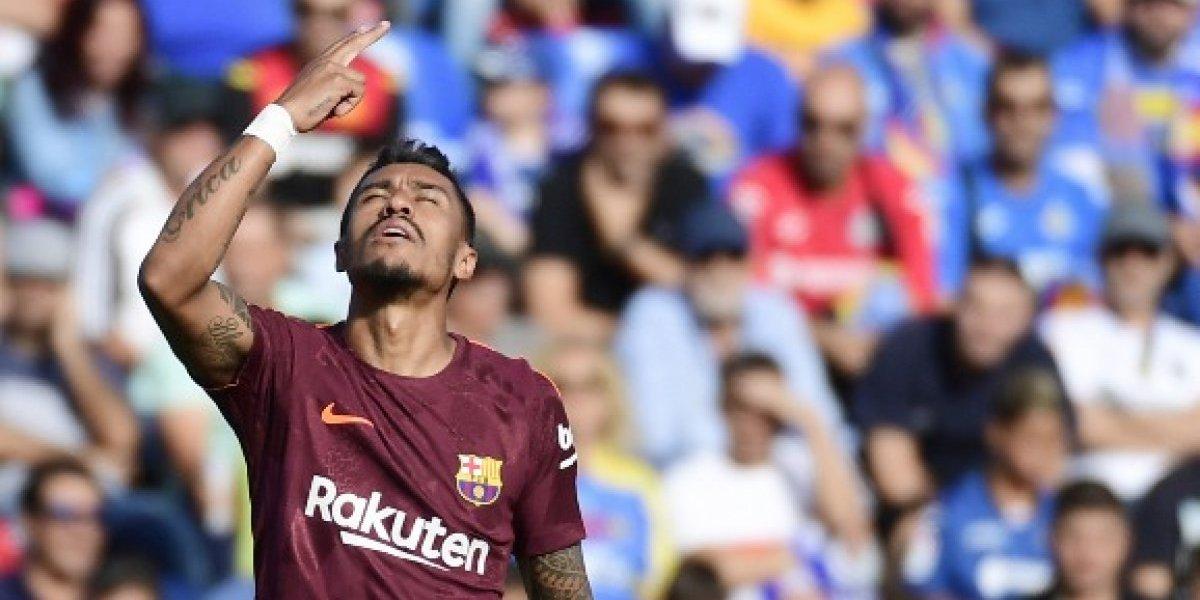 VIDEO. Paulinho anota su primer gol con el Barça y le da la victoria