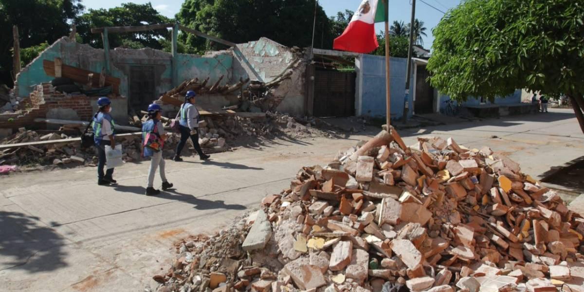 80% de los derrumbes de casas por corrupción y no por sismos