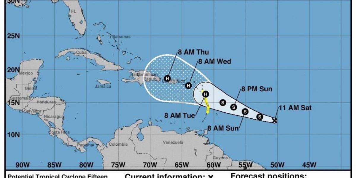 Tormenta tropical María amenaza a la República Dominicana