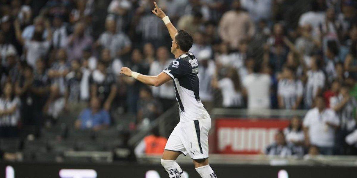 Monterrey vence al Atlas y no suelta la cima del Apertura 2017