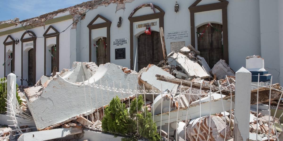 Vuelve a temblar en Oaxaca; se registra sismo de 5.8 grados