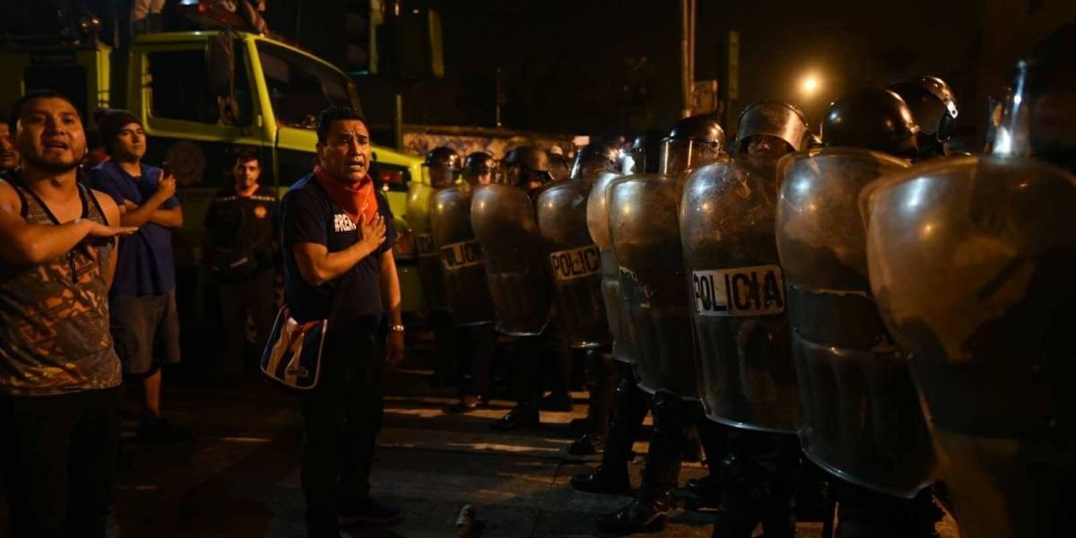 Las fotos más impactantes de la manifestación del #15Septiembre