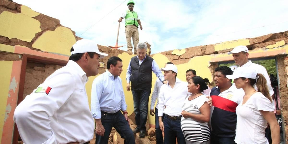 Damnificados no reciben ayuda porque no la recogen: Osorio Chong