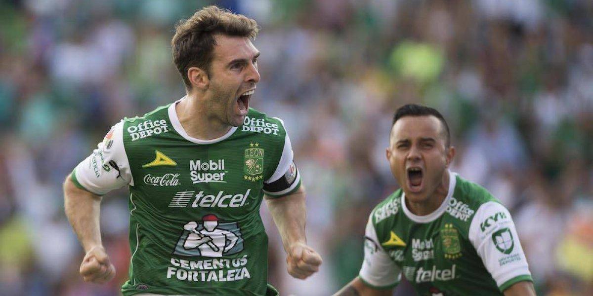 Mauro Boselli consigue su gol 100 en México en triunfo del León ante Tuzos