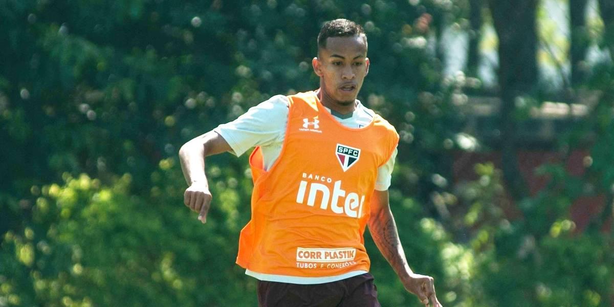 Jovem atacante Paulo Bóia é relacionado pela primeira vez no São Paulo