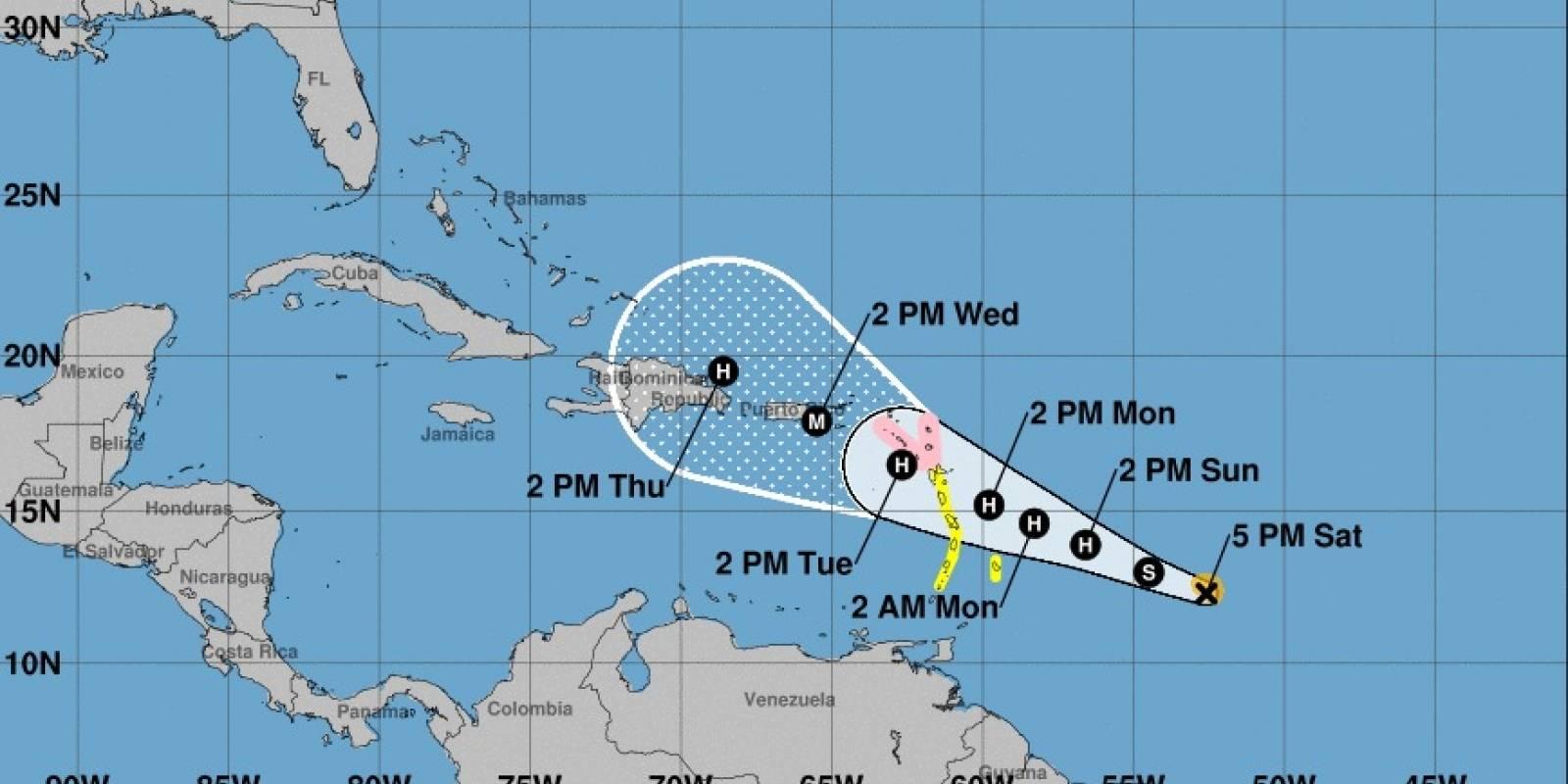 tormenta María
