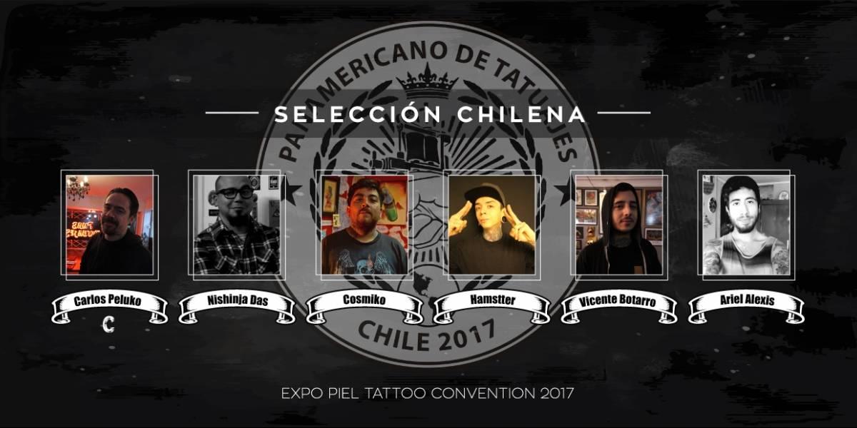 Chile se prepara para el Panamericano de Tatuajes
