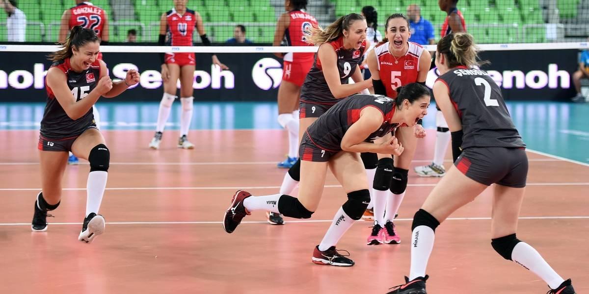 Turquía vence 4-3 a RD en semifinal....RD peleará este domingo el bronce Mundial Sub-23
