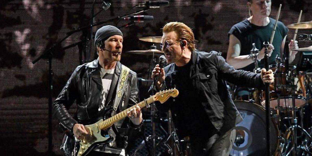 La banda irlandesa U2 cancela concierto en Estados Unidos