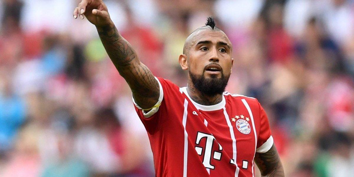 Así vivimos el regreso a las canchas de Arturo Vidal con el Bayern Munich