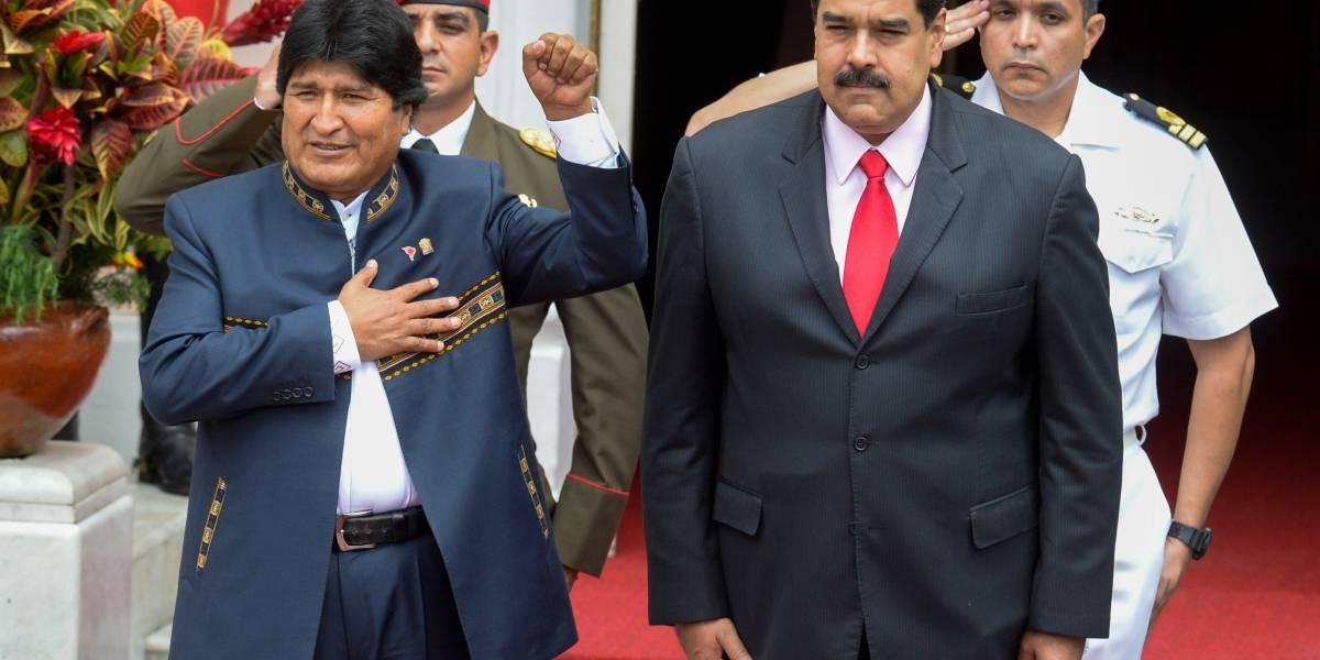 """Morales a Maduro: """"No los vamos a abandonar, diga lo que diga la derecha"""""""
