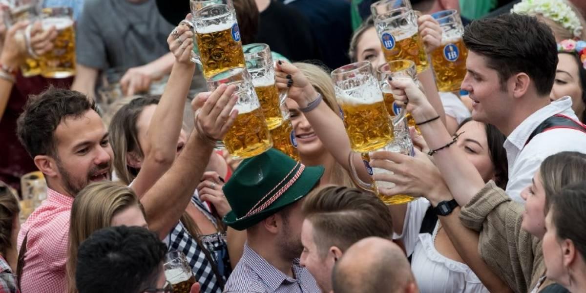Cerveza y más cerveza: las imágenes que dejan los primeros días del Oktoberfest