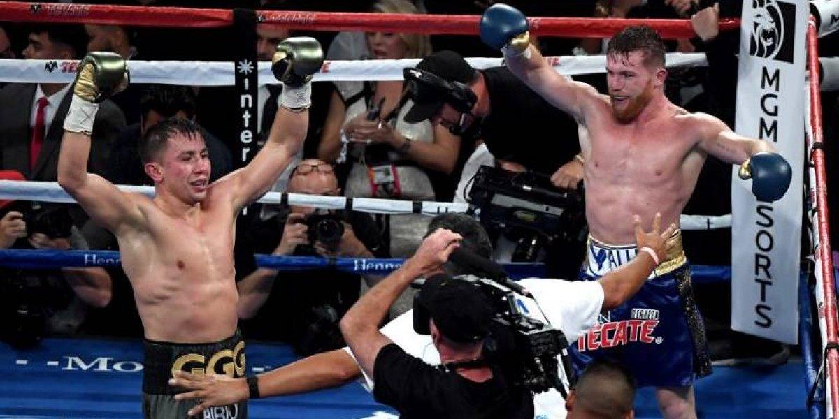 Canelo Álvarez y Golovkin mostraron su molestia por el empate en la pelea del año