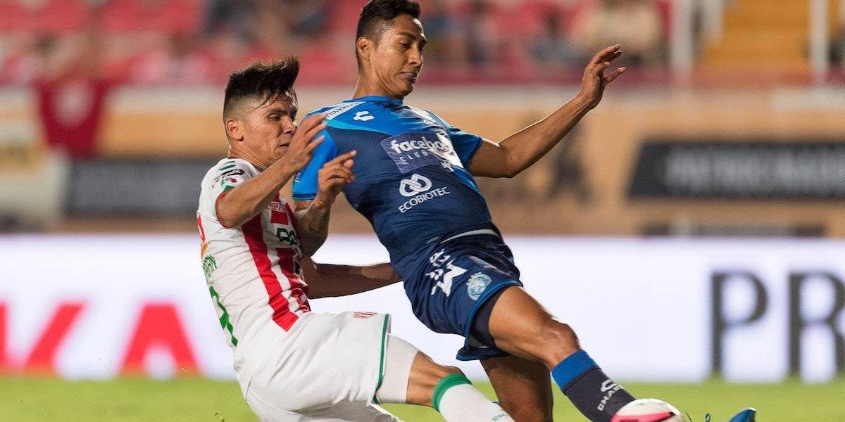 Necaxa y Puebla firman empate que sabe a poco en Apertura 2017