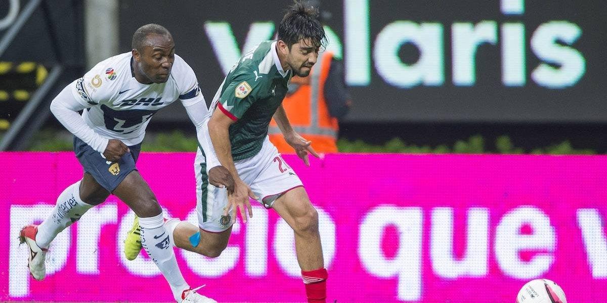 ¡Maldición sin fin! Pumas sigue sin ganarle a las Chivas en Jalisco