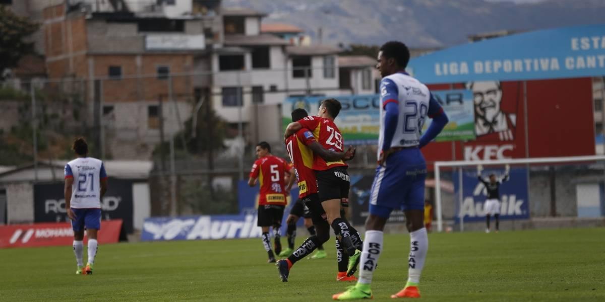 Clan Juvenil empata con Deportivo Cuenca