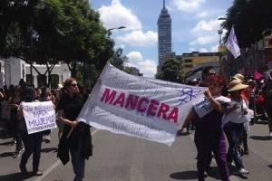 Protesta México asesinato Mara Castillo