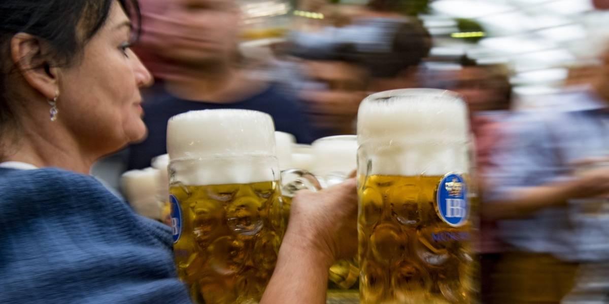 Las imágenes que dejan los primeros días del Oktoberfest